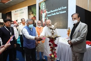 GEN V.K. SINGH, MINISTRY OF STATE FOR ROAD, TRANSPORT, HIGHWAY & CIVIL AVIATION, GOI INAUGURATES 3RD AYURYOG EXPO, HIMALAYAN HERBAL EXPO AND AROGYA FAIR AT INDIA EXPO CENTRE & MART, GREATER NOIDA